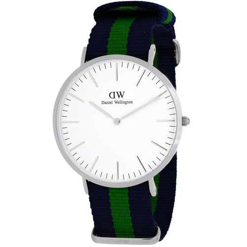 Daniel Wellington Men's Classic Warwick Watch Quartz Mineral Crystal 0205DW