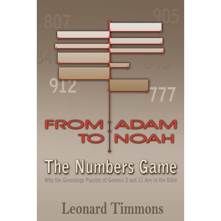 From Adam to Noah-The Numbers Game : Why the Genealogy Puzzles of Genesis 5 and 11 Are in the Bible (Sliding Puzzles)