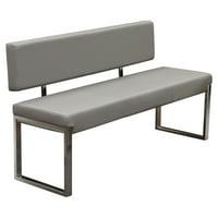Diamond Sofa Knox Bench with Back