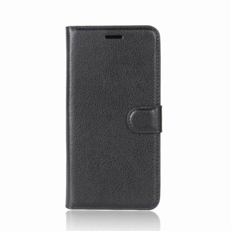 Magnetic TPU Leather Flip Stand Case Cover Skin Card Slot For Wiko Lenny 4 Plus - image 1 of 6