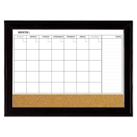 Quartet 79284 23 X 35 In Home Decor Magnetic Combo Calendar Board