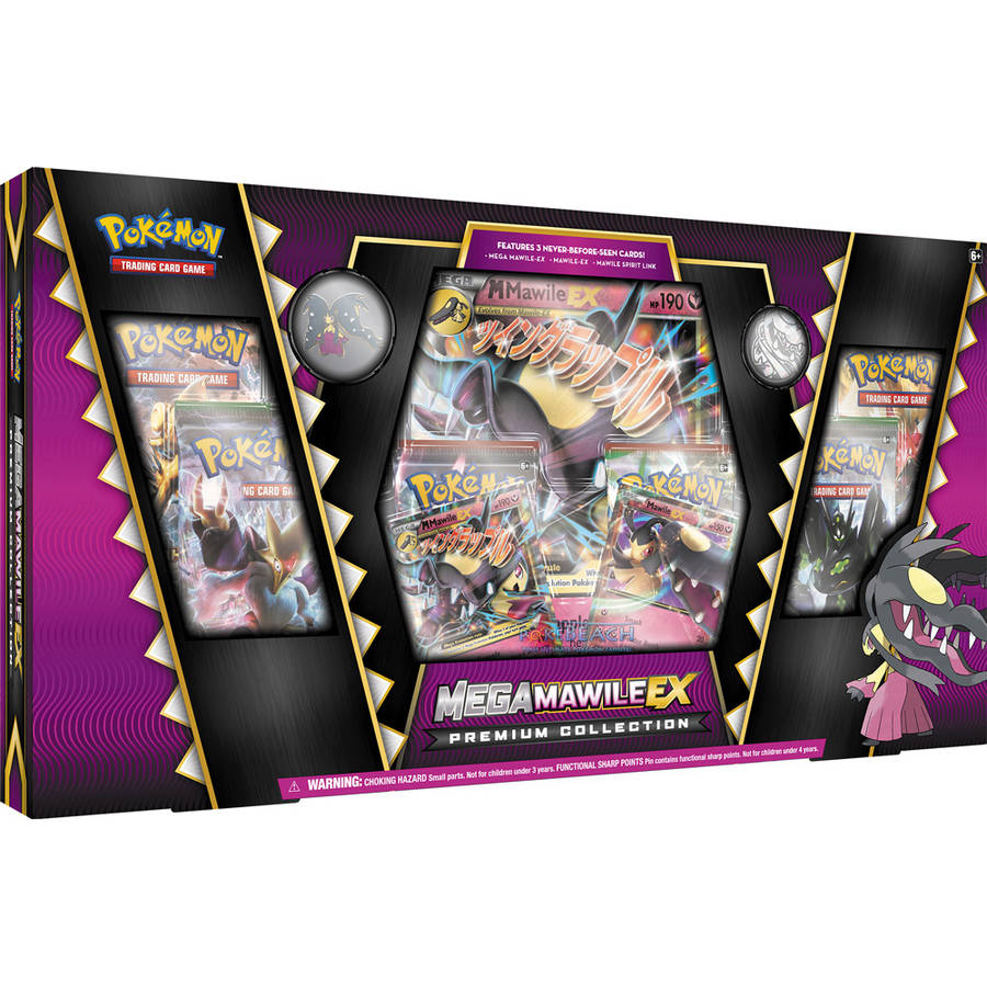 POKEMON 2016 MEGA MAWILE BOX