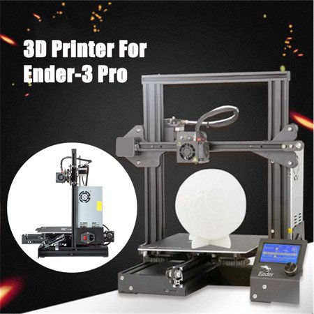 Upgraded Creality Ender 3 Pro 3D Printer + Magnetic Hot Heated Bed MeanWell  Power 220x220x250mm DC 24V 1 75mm PLA Aluminum DIY