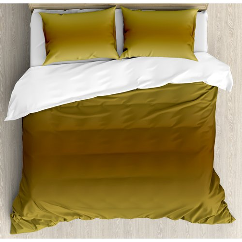 Ambesonne Ombre Duvet Cover Set