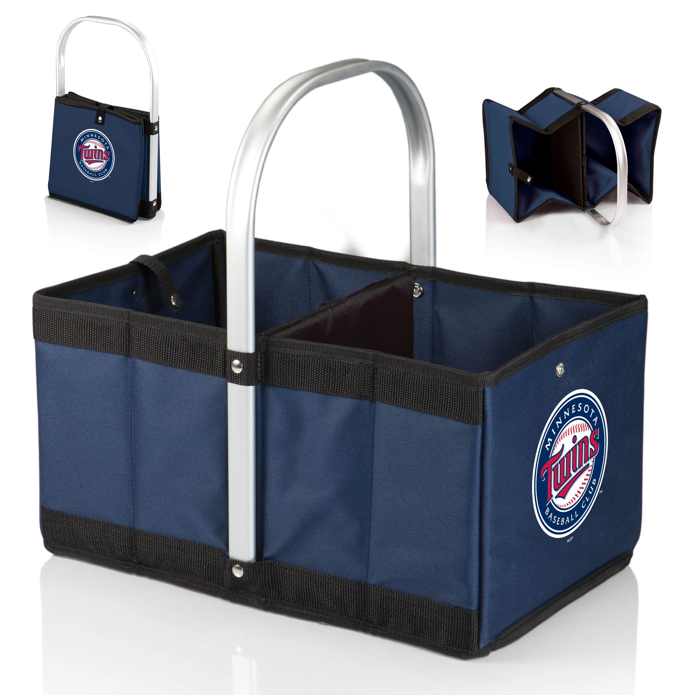 Minnesota Twins Urban Basket - Navy - No Size