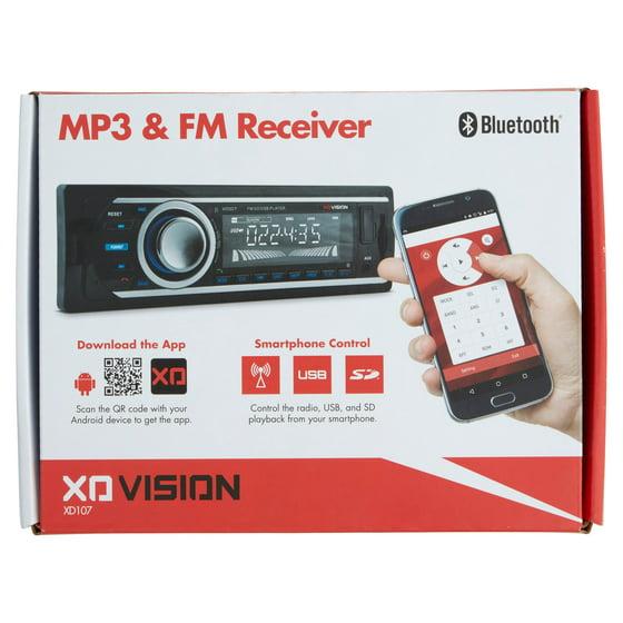 Xo Vision Single-din In-dash Fm/mp3 Digital Media Receiver With Usb/SD