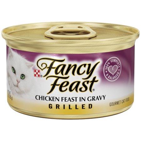 Purina Fancy Feast Grilled Chicken Feast In Gravy 3 Oz  Can