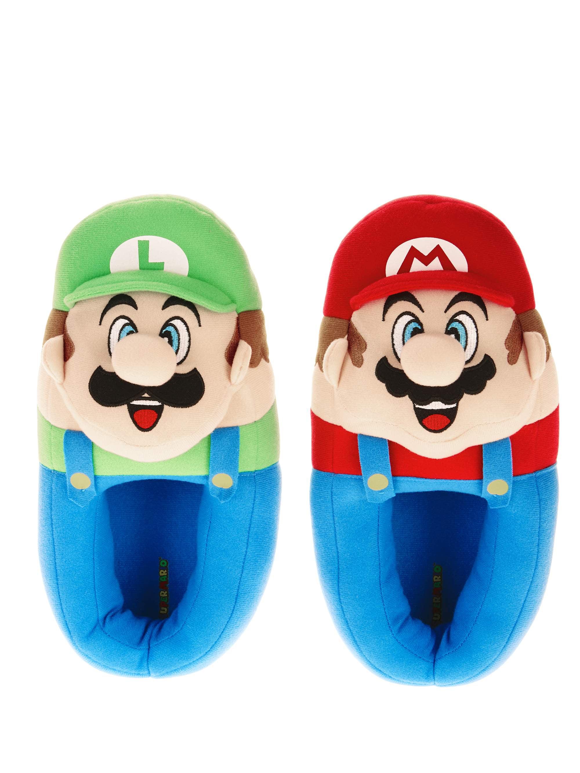Nintendo Mario Bros Boy's Slipper