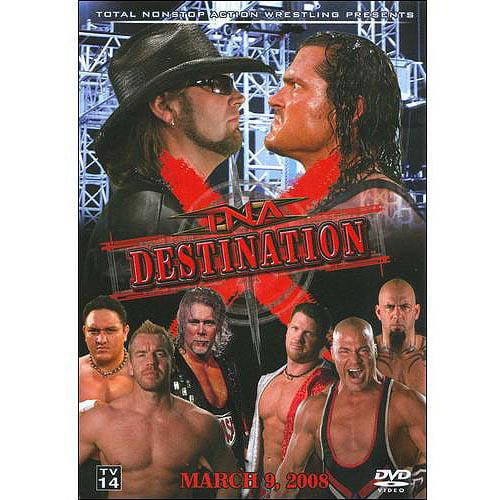 TNA Wrestling Destination X (2008) DVD by