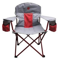 OmniCore Designs New Standard: 300 lbs. Capacity Oversized Heavy Duty Padded Mesh Quad Folding Camp Chair