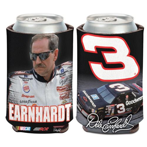 Dale Earnhardt Sr. Official NASCAR 12 oz. Insulated Coozie Can Cooler by Wincraft