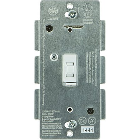GE Z Wave Wireless Lighting Control Smart Dimmer Toggle
