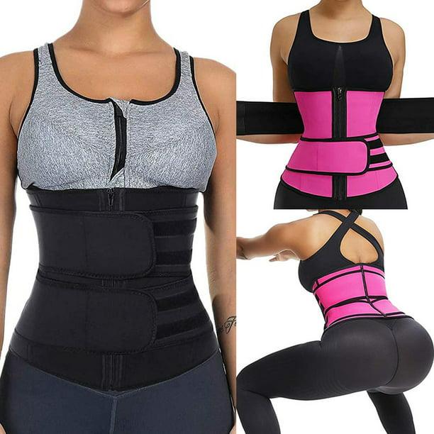 AN AN Waist Trainer for Women Sweatfit Adjustable Slimming Trimmer