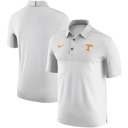 Tennessee Volunteers Nike Elite Coaches Sideline Dri-FIT Polo - White
