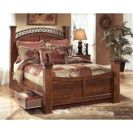 Signature Design By Ashley Timberline Poster Storage Bed