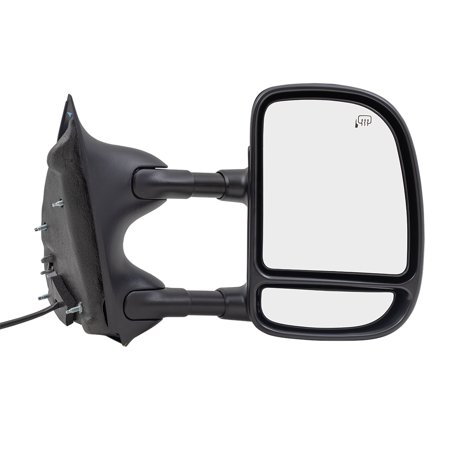 Passengers Telescopic Tow Power Side View Mirror Heated Replacement for Ford Pickup Truck SUV 3C7Z17682 EAA