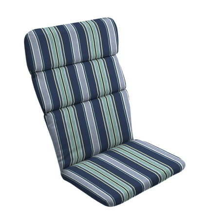 Arden Selections Shire Aurora Stripe 45 5 X 20 In Outdoor Adirondack Chair Cushion