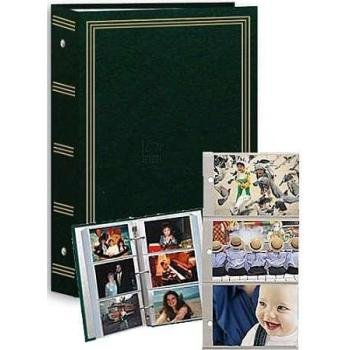 Pioneer STC-504 3-Ring 4x6 Photo Album (Hunter Green)