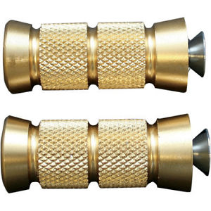 Accutronix Brass Shiftpegs Grooved Fits 82-84 Harley-Davidson FLH Electra Glide