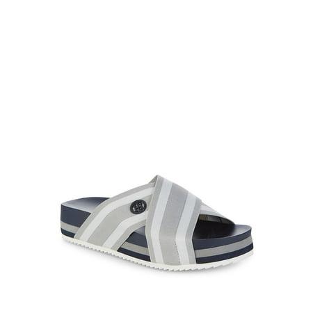 e4b811526d97f Tommy Hilfiger - Blysse Slide Sandals - Walmart.com