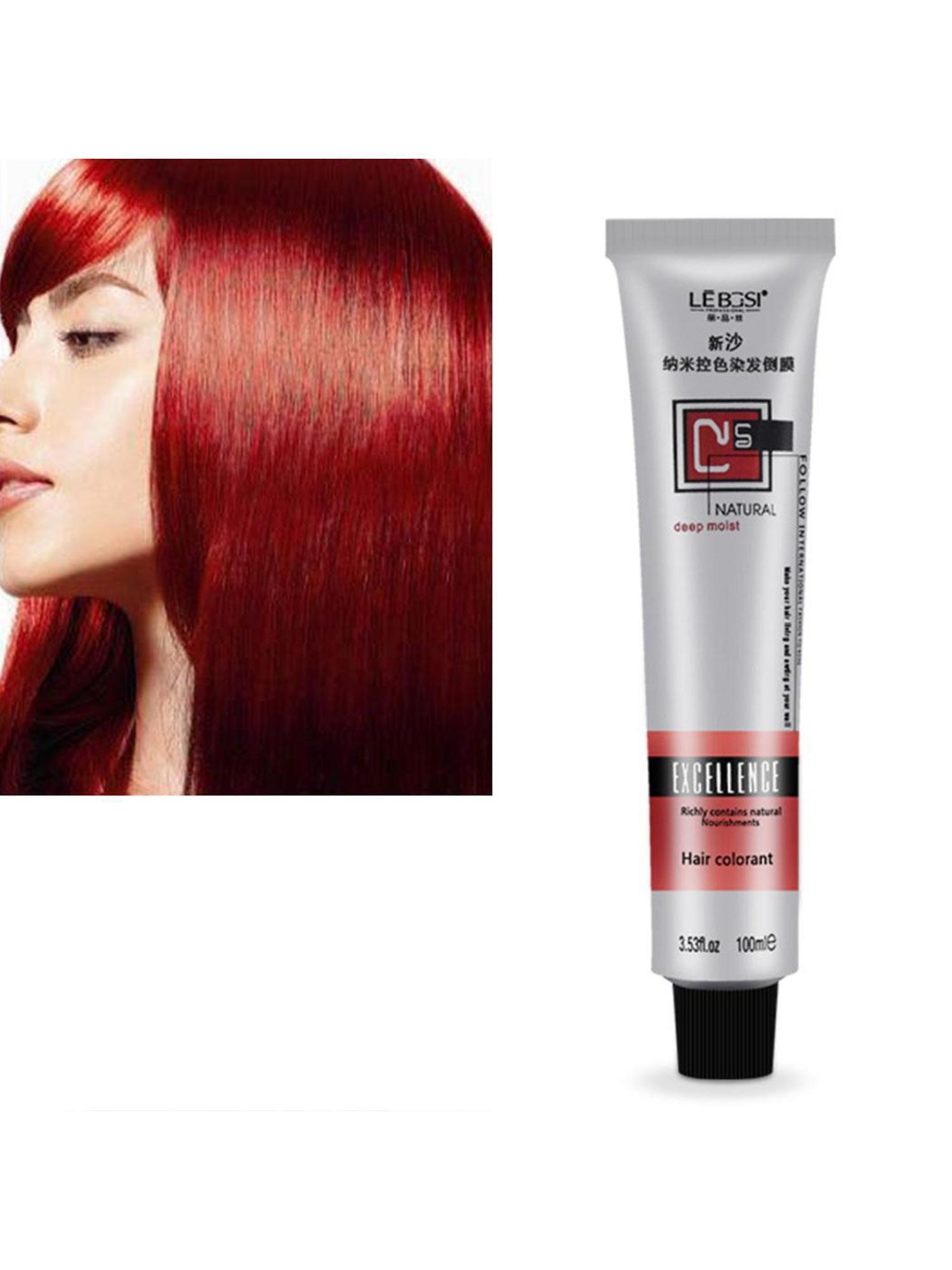 100ml Professional Long Lasing Permanent Hair Dye Bright ...