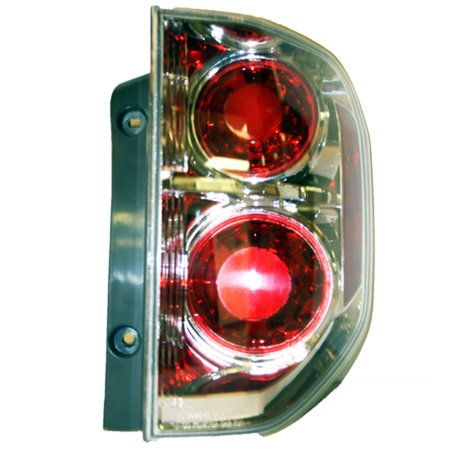 2006-2008 Honda Pilot  Aftermarket Passenger Side Rear Tail Lamp Lens and Housing 33501S9VA11-V