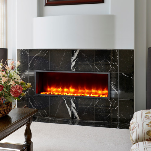 dynasty fireplaces 44 built in led wall mount electric