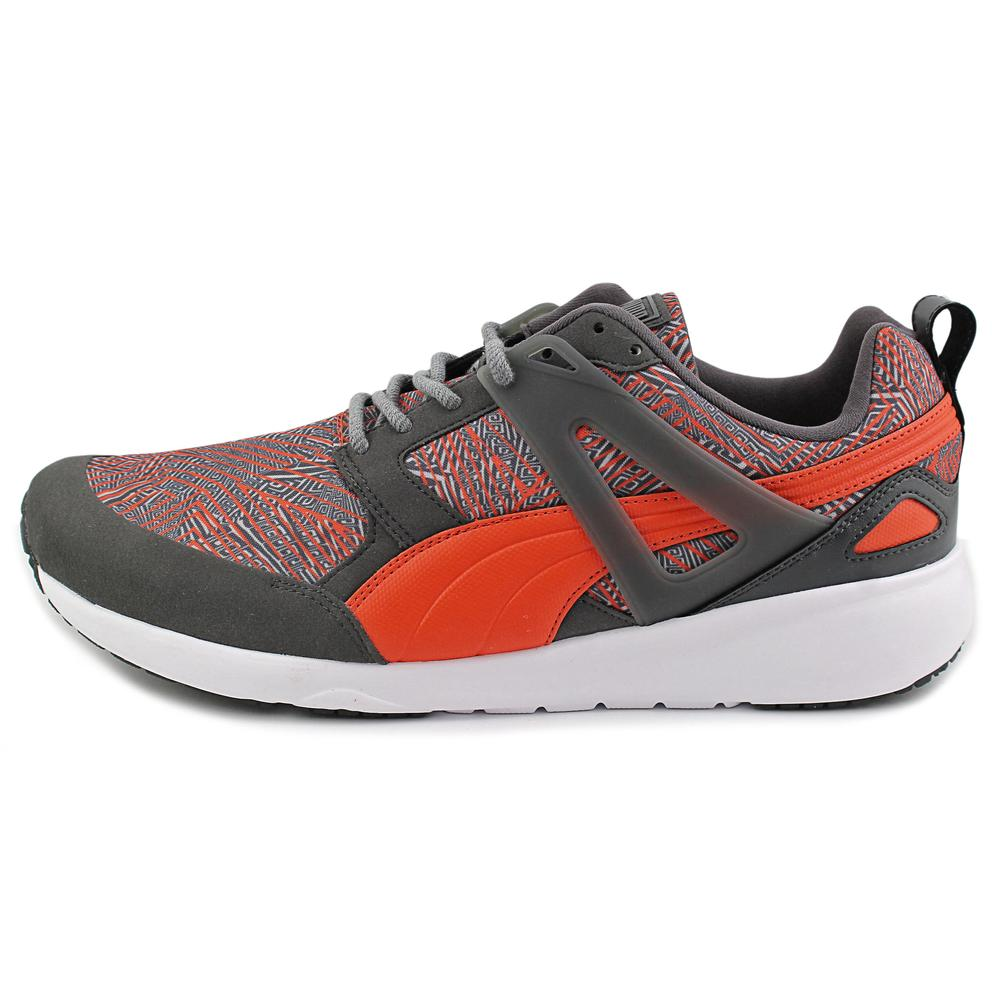Puma Mens Arial Graphic Sneakers Economical, stylish, and eye-catching shoes