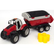 Adventure Force Tractor With Trailer