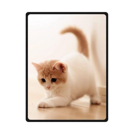 CADecor Sport Cat Fleece Blanket Throws 58x80 -