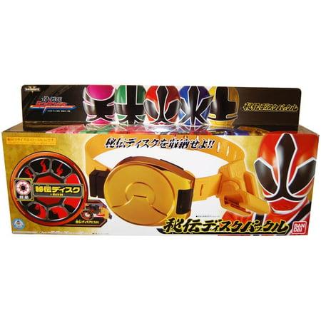 Power Rangers Shinkenger Toy Hidden Disk Belt