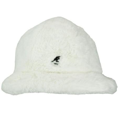 86a2254998cb9 KANGOL - Kangol Faux Fur Casual Bucket Hat - Walmart.com