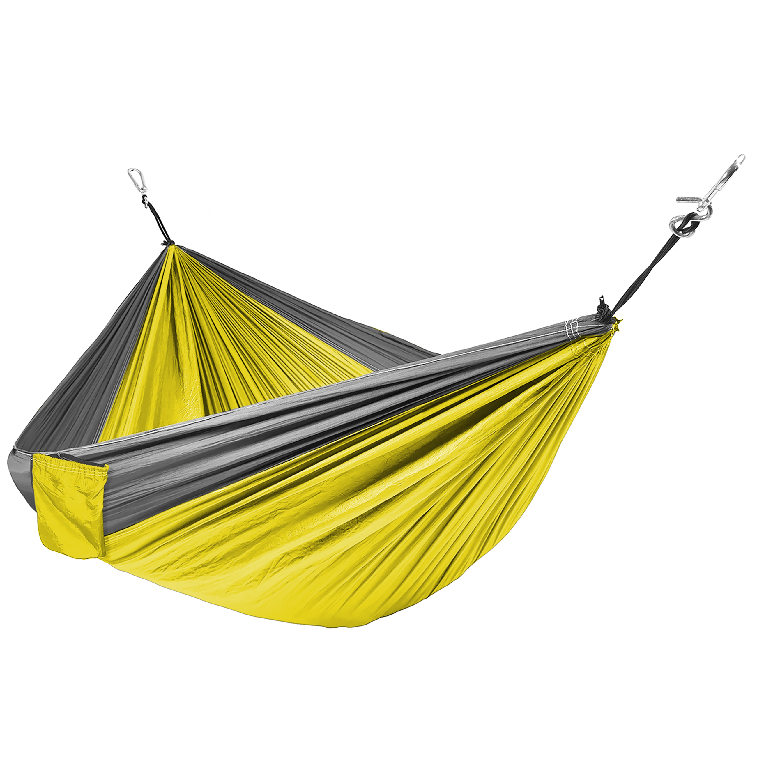 Best Choice Products Portable Parachute Hammock Nylon Hanging Outdoor Camping Patio Yellow by