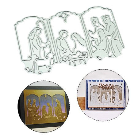 Fancyleo Jesus Metal Cutting Dies New 2019 Craft Stamps die Cut Embossing Card Make Stencil Frame Anna Griffin Die Cut