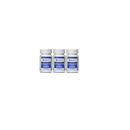 Generic Benadryl (Diphenhydramine 25 mg Generic Benadryl Allergy Medicine and Antihistamine 100 Capsules per Bottle PACK of 3 )