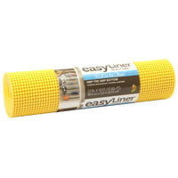 "Duck Brand Select Easy Shelf Liner, 12"" x 10', Sunshine"