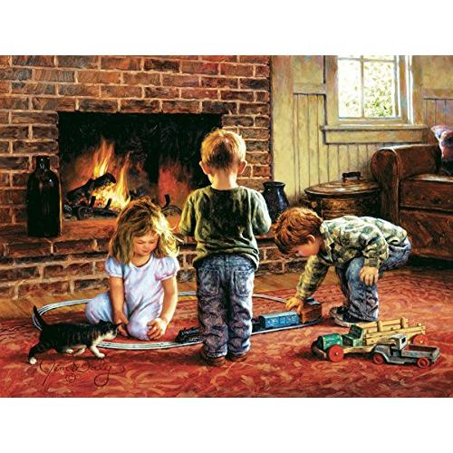 SunsOut The Toy Train 300 Piece Jigsaw Puzzle 29399