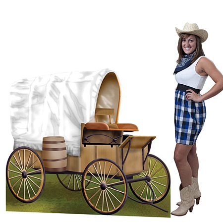 4 ft. 8 in. Wild West Covered Wagon