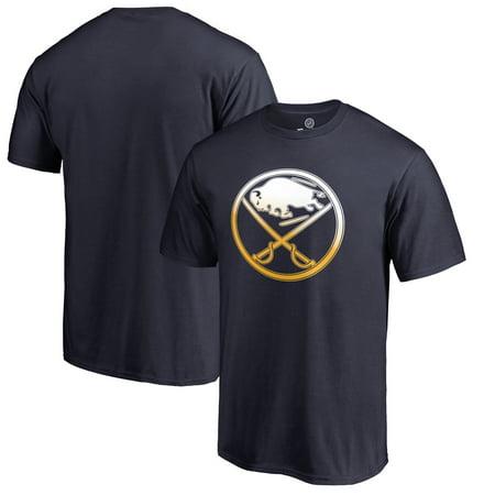 Buffalo Sabres Fanatics Branded Gradient Logo T-Shirt - Navy ()