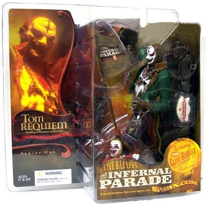 McFarlane Clive Barker's The Infernal Parade Series 1 Tom Requiem the Ringmaster Action Figure