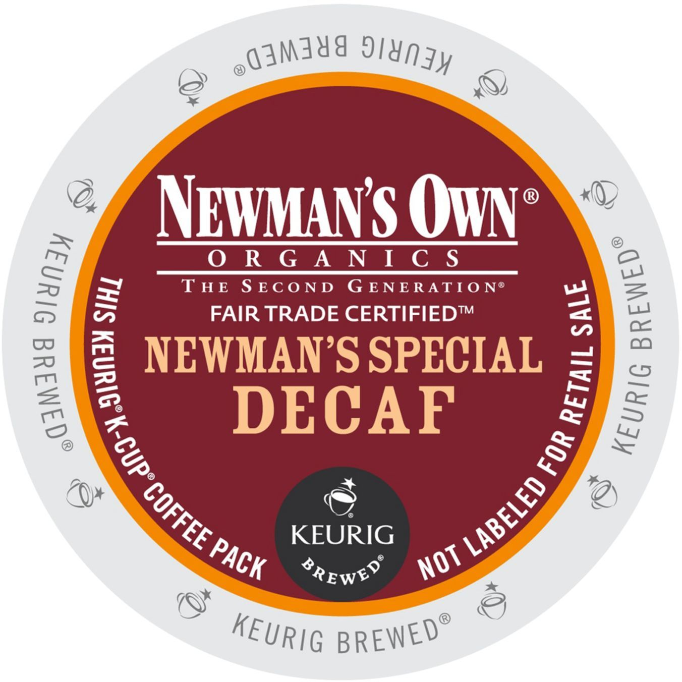 Newman's Own Organics Newman's Special Decaf Coffee, K-Cup Portion Pack for Keurig Brewers (96 Count) (4x16oz)