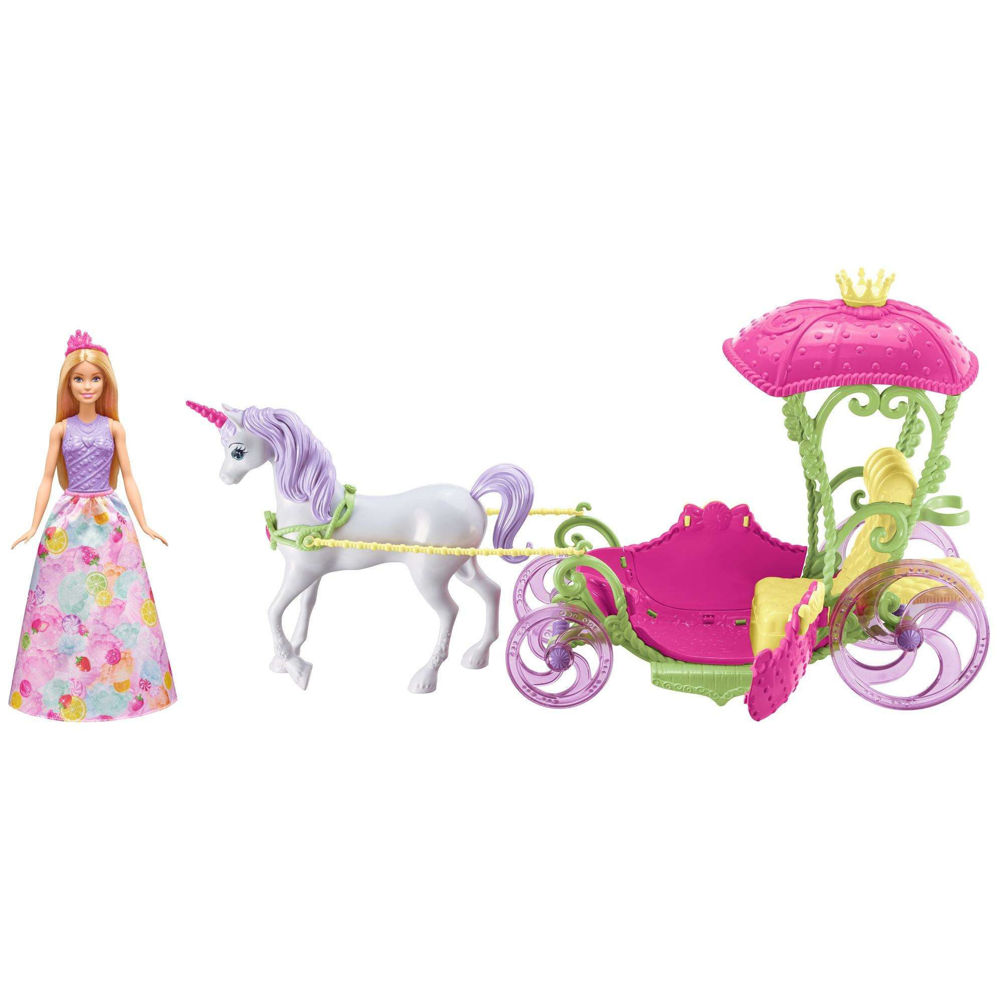 Barbie Dreamtopia Sweetville Carriage by Mattel