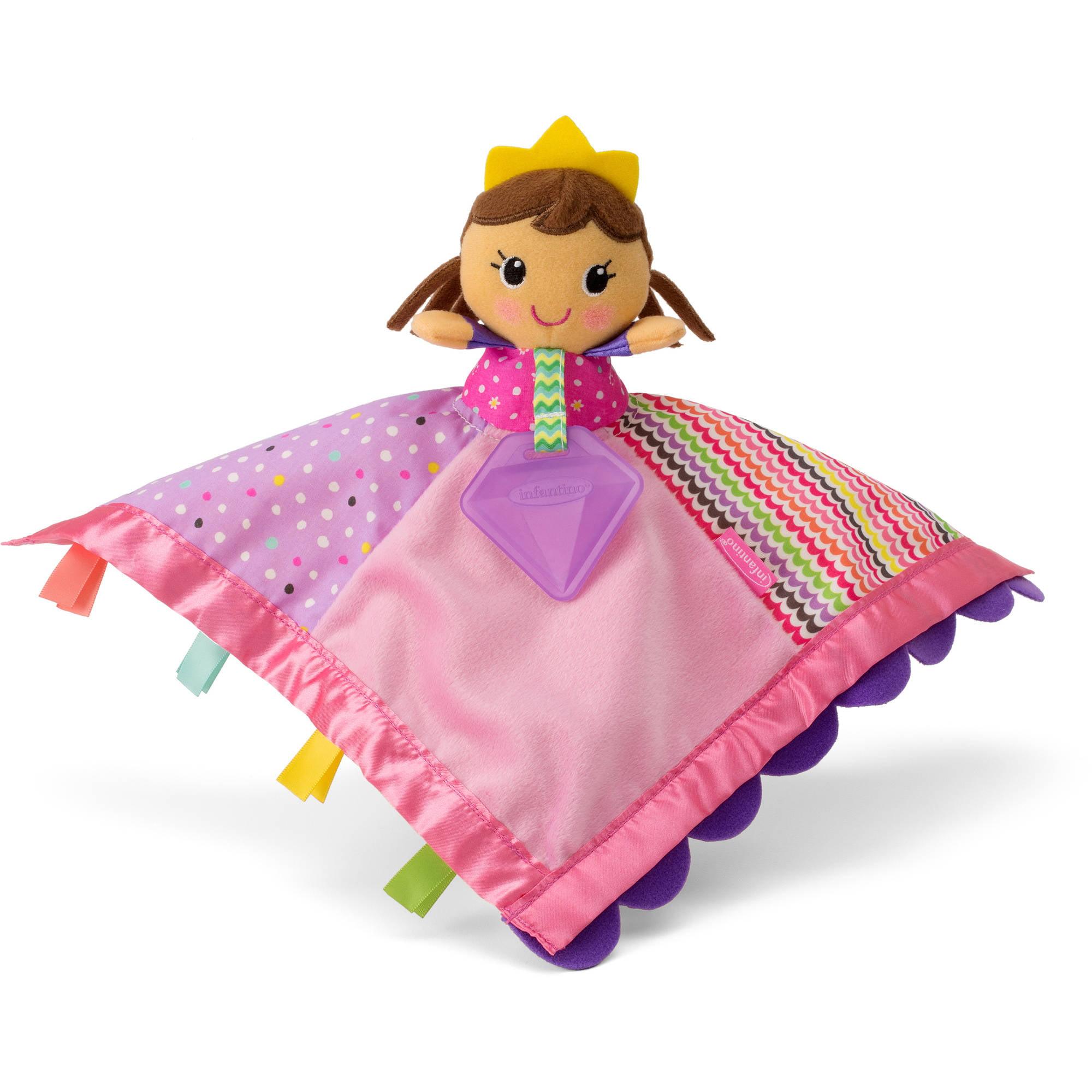 Infantino Sparkle Soft & Snuggly Lovie Pal Princess