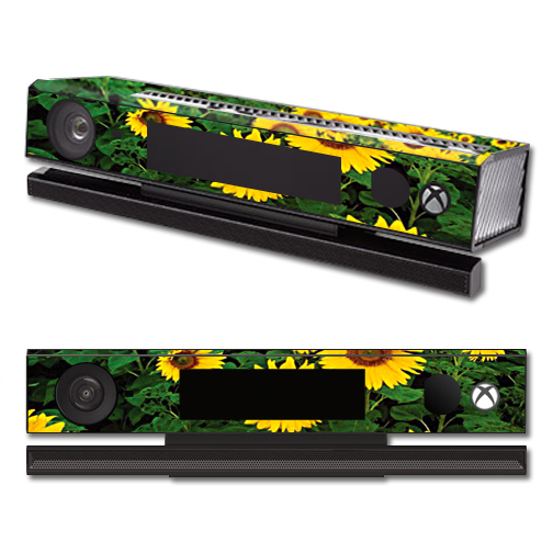 Mightyskins Protective Vinyl Skin Decal Cover for Microsoft Xbox One Kinect wrap sticker skins Sunflowers