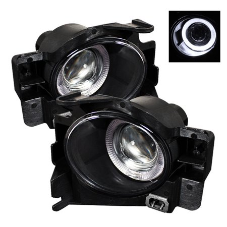 - Spyder Nissan Altima 08-12 2Dr (w/Switch. No Cover) Halo Projector Fog Lights w/Switch- Clear