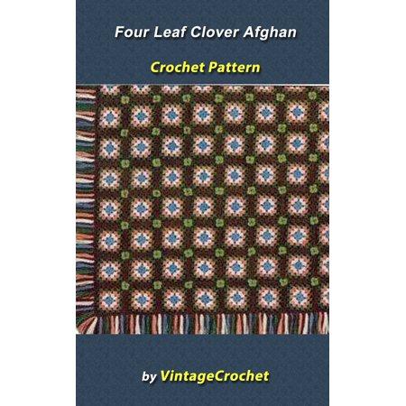 Four Leaf Clover Afghan VintageCrochet Pattern - eBook](Four Leave Clover)