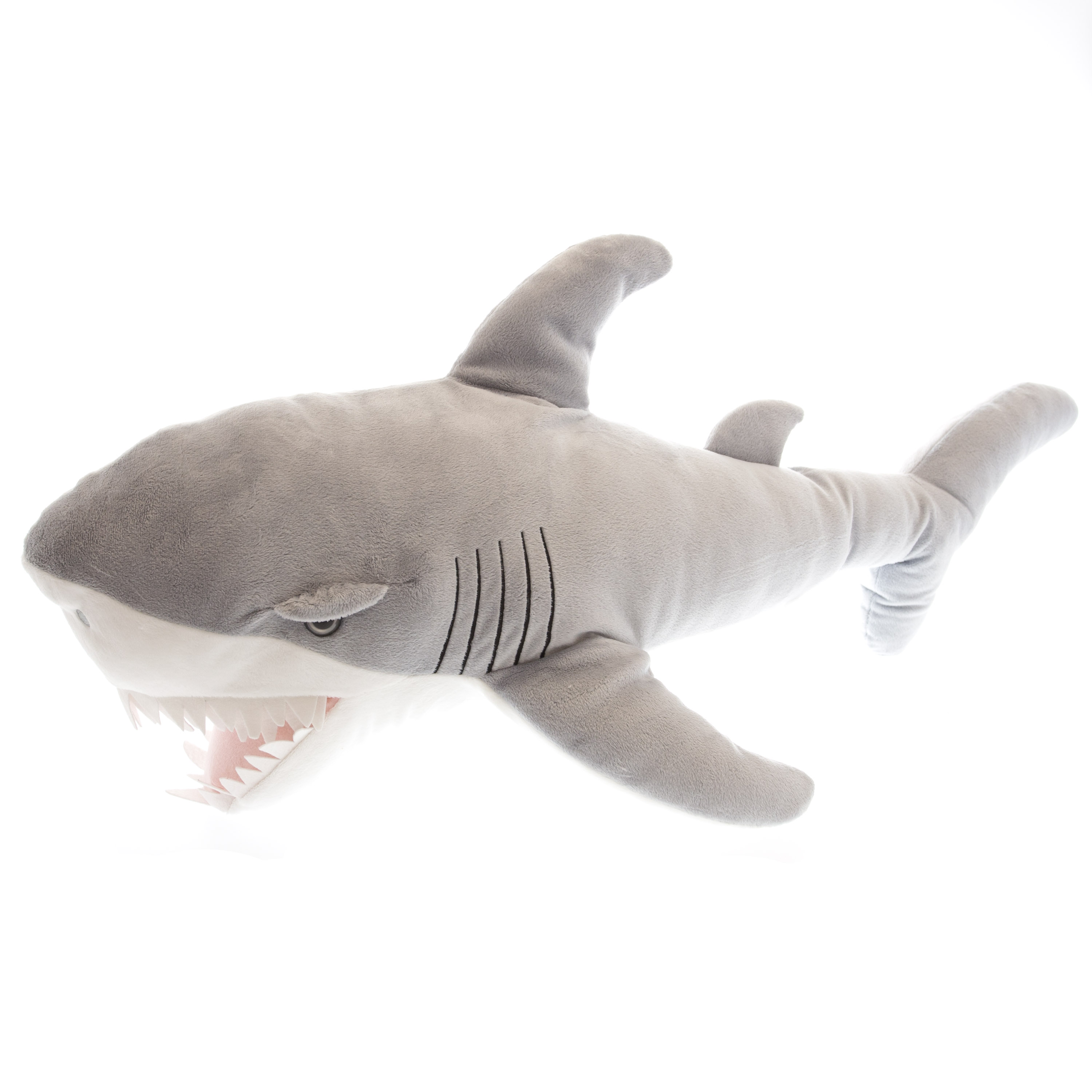 Stuffed Shark Plush Toy 31 Great White Walmart Com