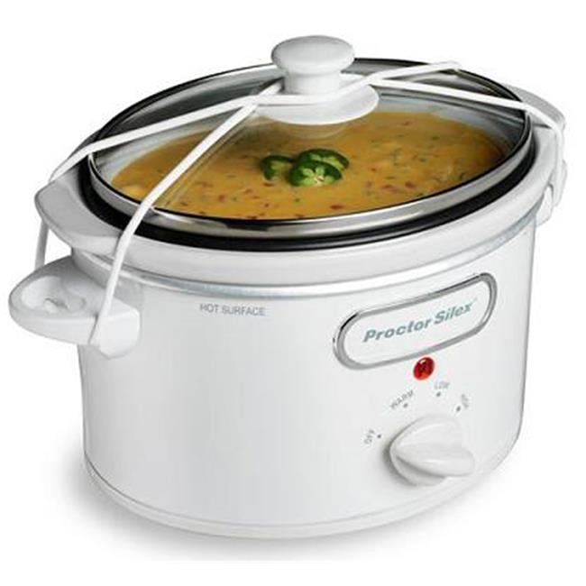 33116 WHT 1.5 Quart Slow Cooker