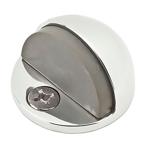 Baldwin  BR7009  Floor Stop  Door Stop  Door Stop  Dome  ;Polished Chrome