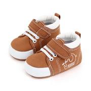 Infants Soft-Soled Shoes, Cloth Socks, Walking Anti-Slip Cartoon Elephant Embroidery Decoration Birthday Gift Sneaker